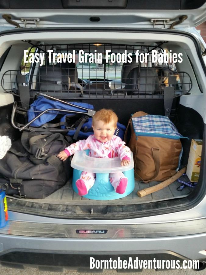 Easy Travel Grain Foods for Baby