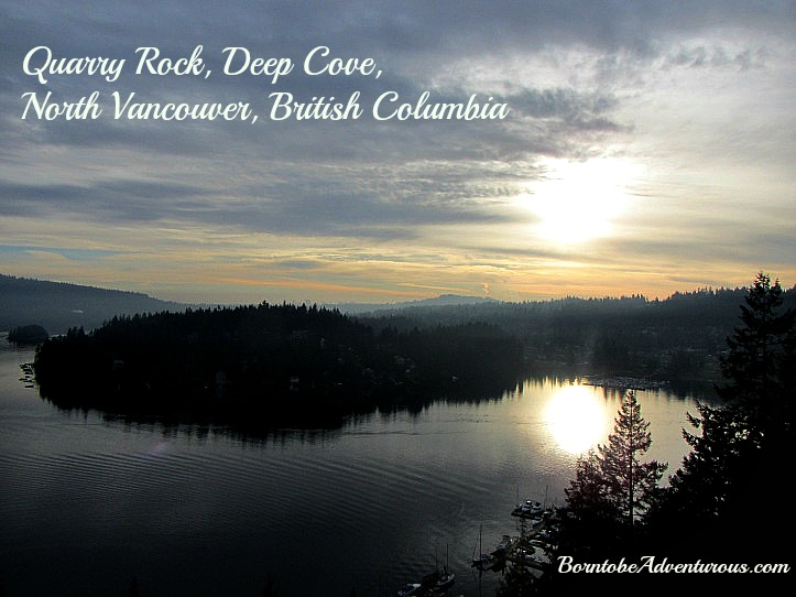Quarry Rock Family Hike Location Deep Cove