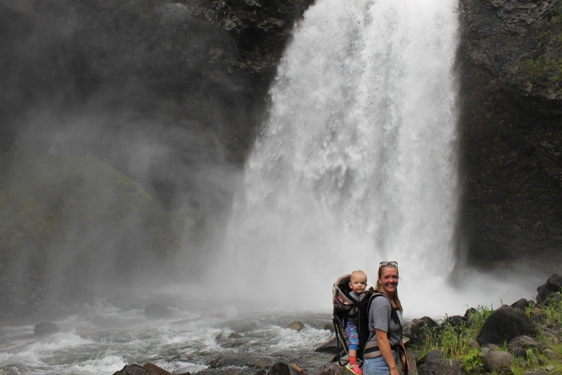 Moul Falls, BC