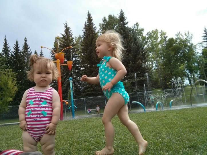 Spray Park Fun