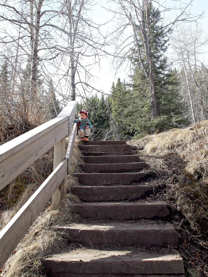 Hiking Stairs