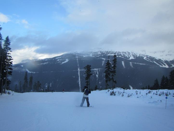 whistler snowboarding