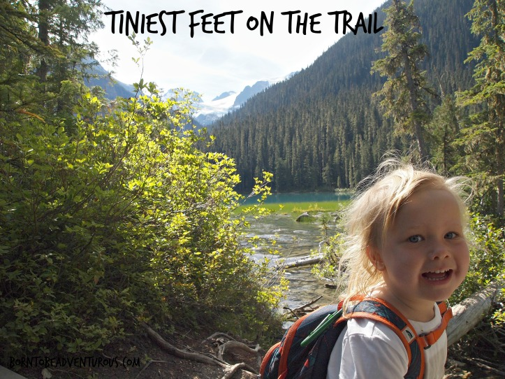 Tiniest Feet on the Trail