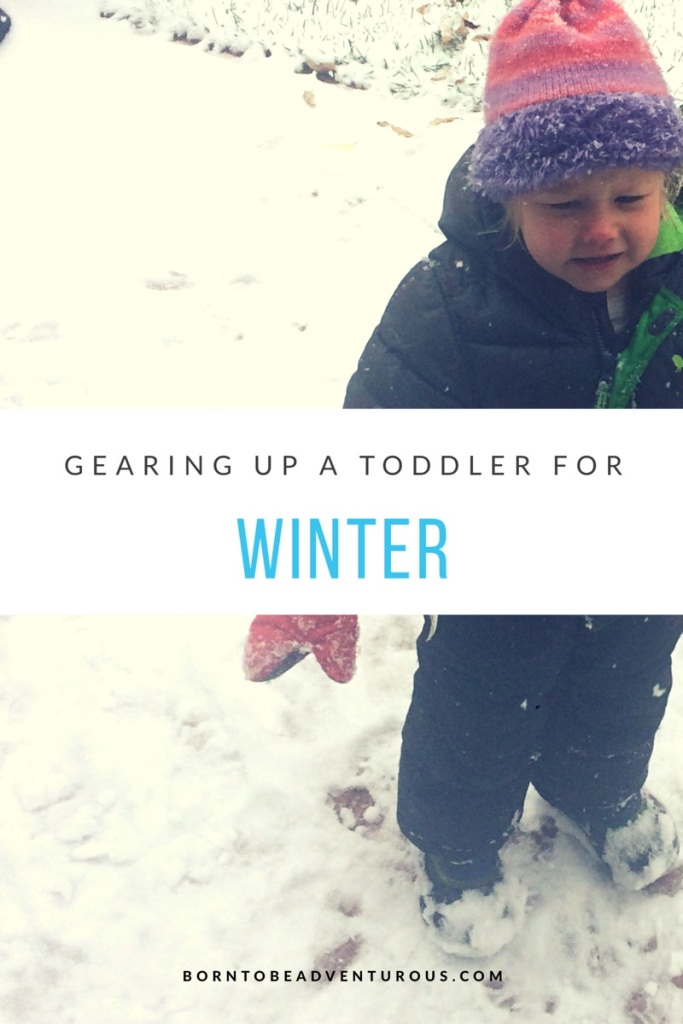 gearing up a toddler for winter