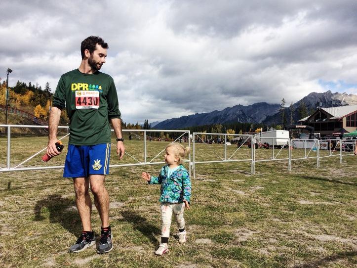 father daughter run